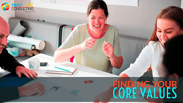 Finding Your Core Values
