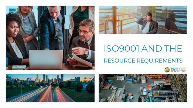 ISO9001:2015 and the Resources