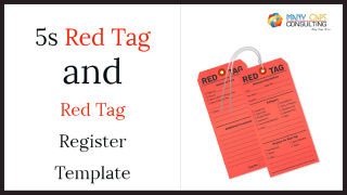 5s Red Tag and Red Tag Register Template