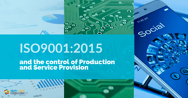 ISO9001:2015 and the control of products and services
