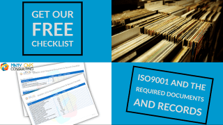 ISO9001 and the required Documents and Records