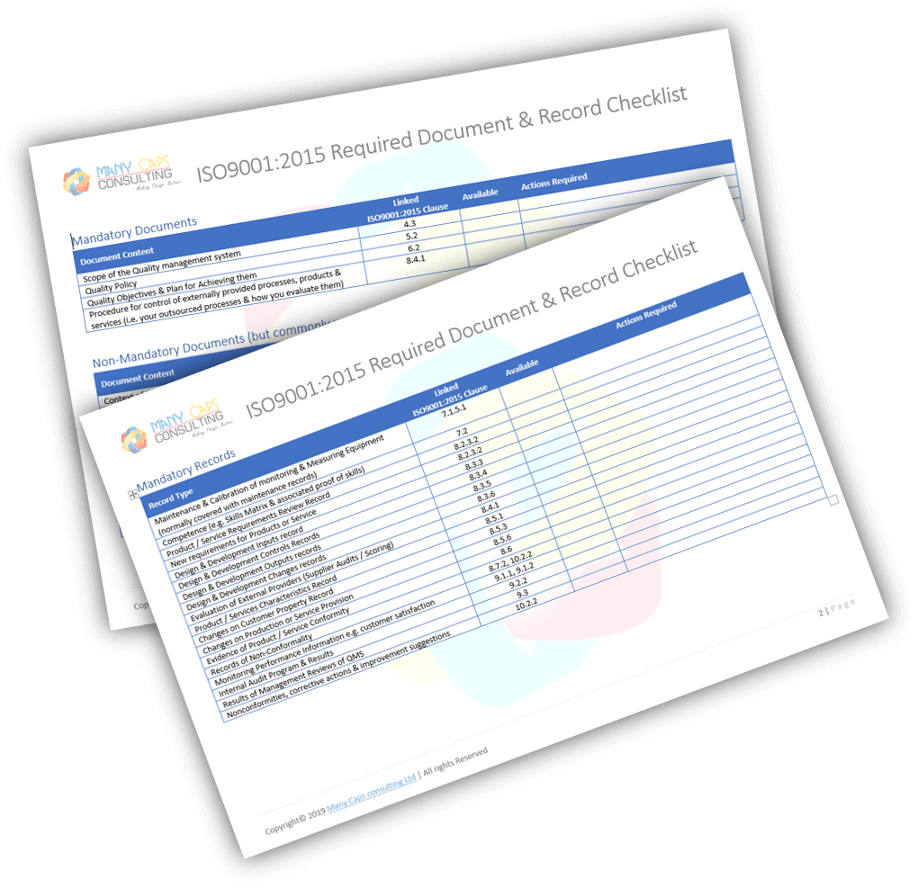 records-and-files-checksheets