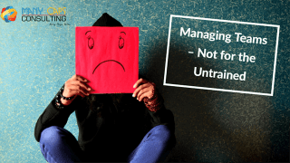 Managing Teams – Not for the Untrained