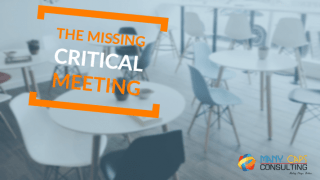 The Missing Critical Meeting