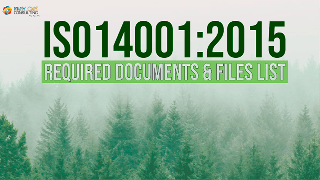 Free Resources - ISO14001:2015 Required Documents