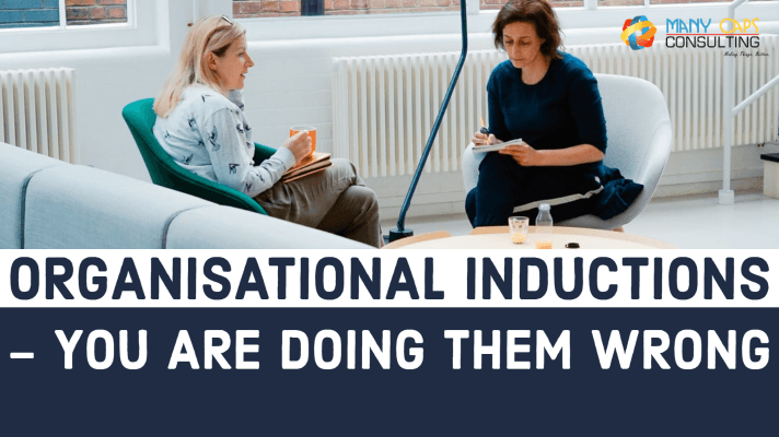 Organisational Inductions - you are doing them wrong, 2 people in a meeting.