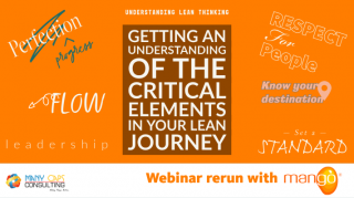 Getting an Understanding of the Critical Elements in Your Lean Journey