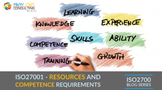 ISO27001 and the Resources and Competence Requirements