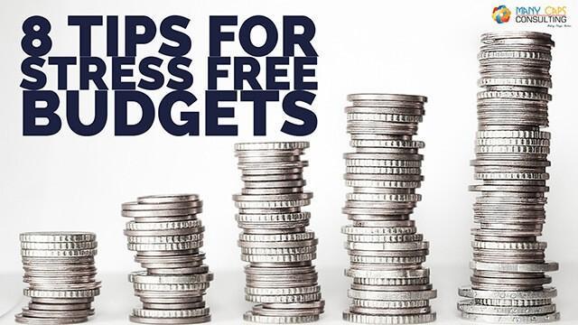 8 Tips For Stress Free Budgets